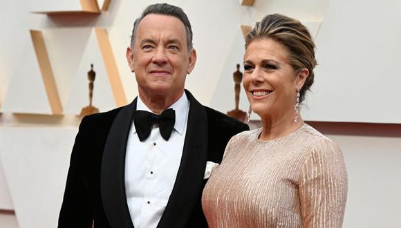 Esposa de Tom Hanks reveló que aún tiene anticuerpos contra el COVID-19. (Foto: ROBYN BECK/AFP)