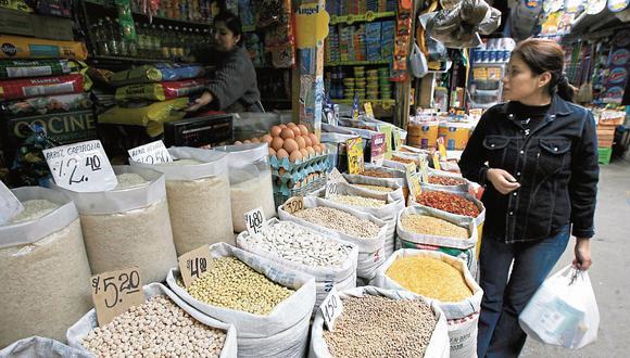 Esta incidencia afecta a los bolsillos de las familias peruanas porque se tratan de productos que son los insumos principales para la generación de otros. (Foto: GEC)
