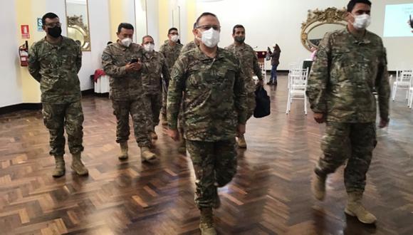 El viaje a Tacna del inspector general del Ejército fue dispuesto por la institución militar tras una protesta de vecinos del cabo que estuvo desaparecido. (Foto: Ernesto Suárez)