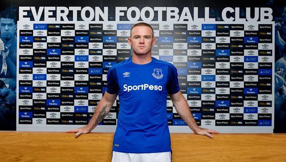 Wayne Rooney dejó Manchester United, club al que llegó en el 2004, para regresar al equipo en el que se formó. (Video/Foto: web Everton)