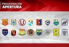 Liga 1: mira la programación completa de la fecha 4 del Torneo Apertura