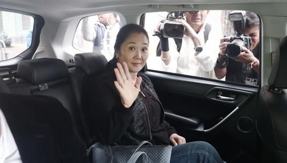 En el caso de Keiko Fujimori, al momento ninguna de las posiciones de los jueces supremos está a favor de declarar fundado el recurso de casación con el que ella busca su libertad. (Foto: GEC)