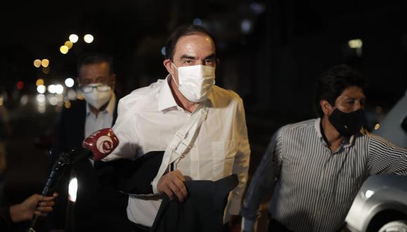 """El candidato presidencial Yonhy Lescano dijo en Tacna que si es elegido presidente pedirá oficialmente que Chile """"devuelva"""" el monitor Huáscar   Foto: El Comercio"""