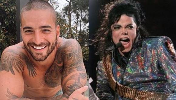 Maluma sorprende con imitación de Michael Jackson  (Foto: Instagram/AFP)