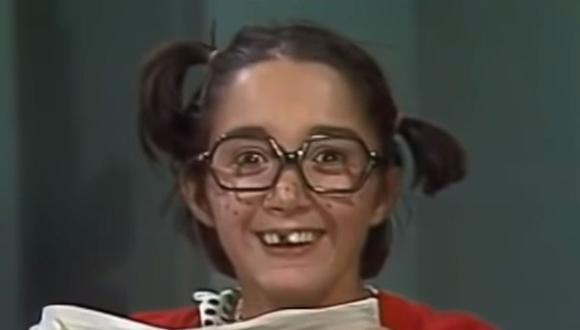 La Chilindrina es la hija de Don Ramón, una niña traviesa, pecosa e inteligente de 8 años, amiga del Chavo y de Quico. (Foto: Televisa)