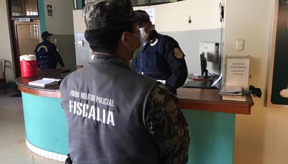 El abogado Julián Ángel Román Franco, representante legal de la presunta víctima, presentó una denuncia contra el exjefe de Policía de Tránsito de Tarapoto. (Foto: GEC)