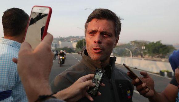 """El dirigente opositor fue liberado el martes por militares con un """"indulto presidencial"""" de Juan Guaidó. (Foto: EFE)"""