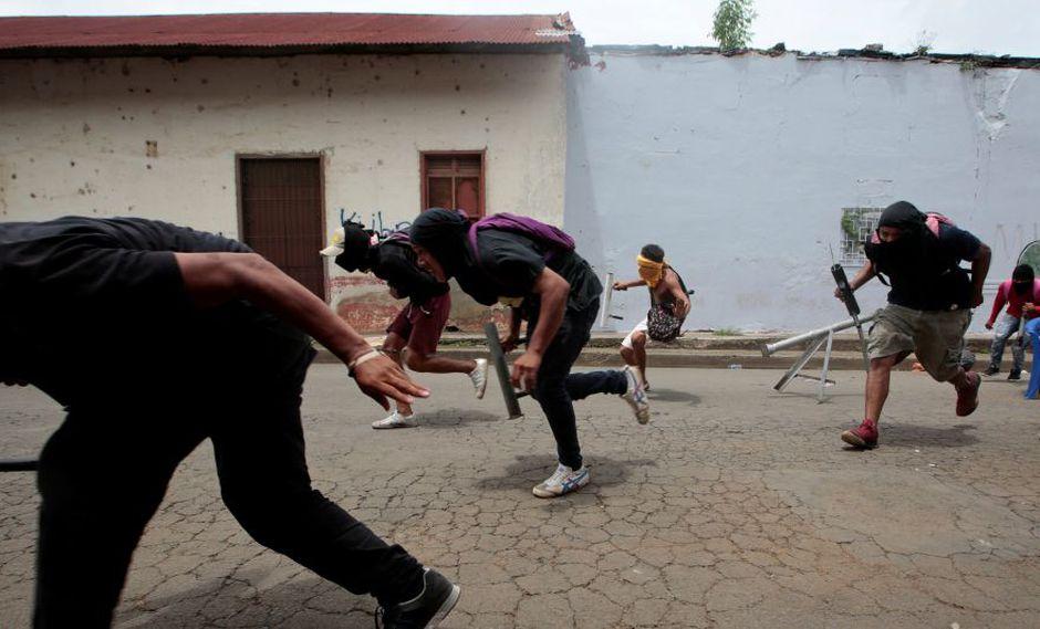 La ciudad de Masaya, 30 km al sureste de Managua y de 100.000 habitantes, se declaró el lunes en rebeldía para exigir que el presidente de Nicaragua, Daniel Ortega, y su esposa y vicepresidenta Rosario Murillo abandonen el poder. (Foto: Reuters)