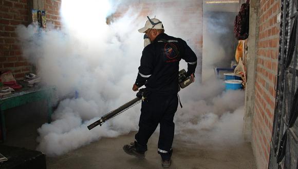 Aunque este año los casos de dengue han disminuido en Piura, a diferencia del 2018, las autoridades exigen más presupuesto para evitar una epidemia como la del 2017. (Foto: Ralph Zapata)