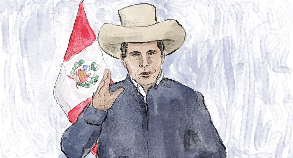 Se espera ver qué postura tomará el presidente en torno a temas internos, latinoamericanos y la relación del Perú con los países más poderosos. (Ilustración: Giovanni Tazza)
