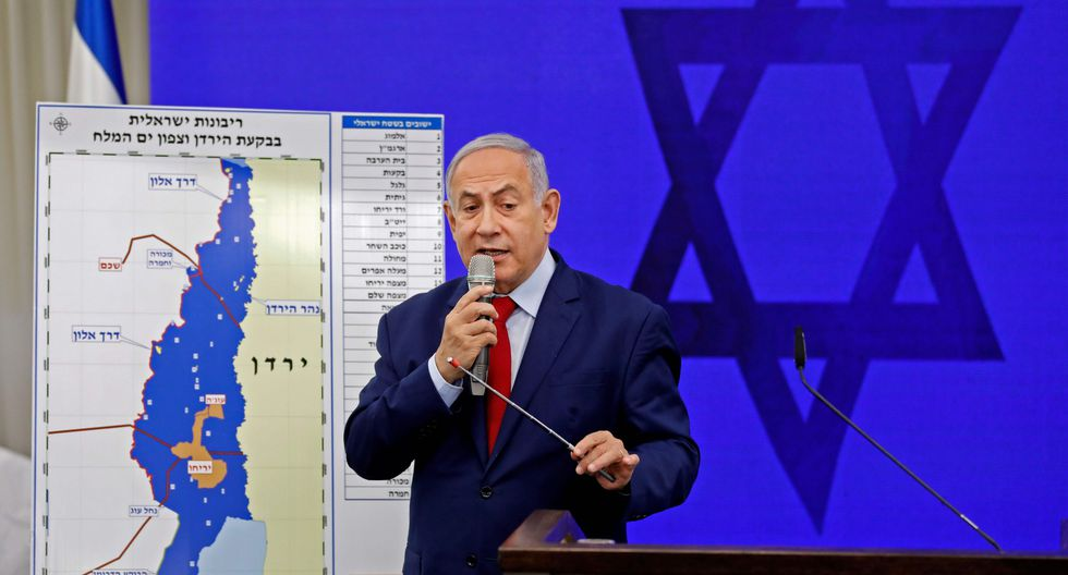 Benjamin Netanyahu promete anexar parte estratégica de Cisjordania si es reelecto como primer ministro de Israel. (AFP).