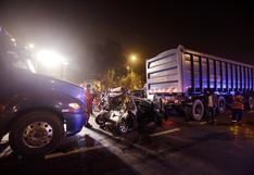 Surco: accidente de tránsito dejó cuatro heridos en la Panamericana Sur