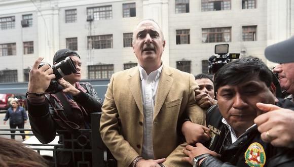 Desde la cárcel, el ex alcalde del Callao ha presentado la demanda en la Corte Superior de Lima. (Foto: Miguel Bellido/ Archivo El Comercio)