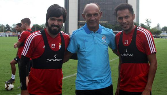 Pedro Garay visitó hace dos años al plantel de Sporting Cristal en La Florida. (Sporting Cristal)