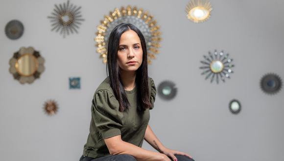 Sigrid Bazán es licenciada en Ciencias Política, tiene 30 años y postula con el número 6 por la lista de Juntos (Foto: Fidel Carrillo).