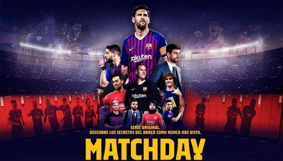 Vive la interna de uno de los mejores clubes de fútbol del mundo en Matchday: dentro del FC Barcelona. Foto: Netflix.