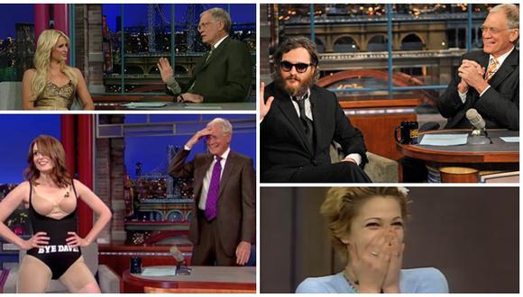 David Letterman: los 10 momentos más emblemáticos de su carrera