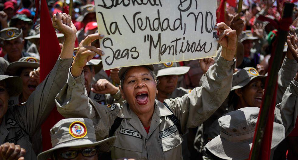 El informe de Michelle Bachelet dio cuenta de ejecuciones, torturas y otras violaciones de derechos humanos en Venezuela. (Foto: AFP)