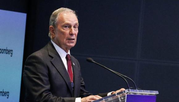 Bloomberg invertiría US$1000 millones en su candidatura