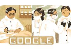 Dr. Wu Lien-teh: Google celebra el nacimiento del precursor de la mascarilla N95 con doodle