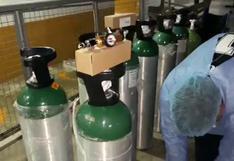 Huánuco: envían 45 balones de oxígeno medicinal para hospital que atiende a pacientes con COVID-19