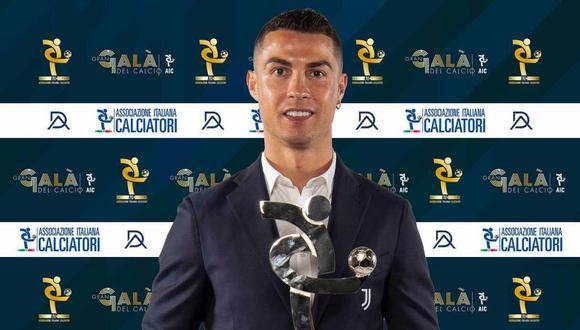 Cristiano Ronaldo mejor jugador de la liga italiana 2019-2020. (Foto: Facebook)