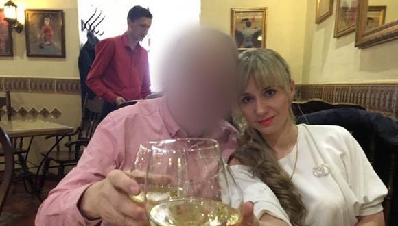 James conoció a Irina, de 32 años.