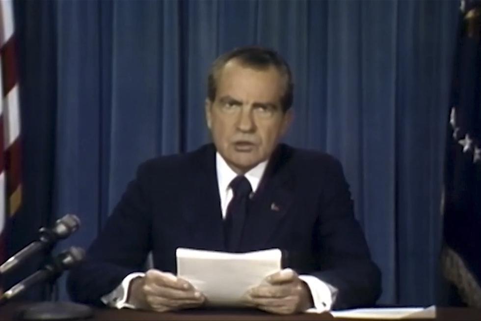 Así hubiese sido el discurso de Nixon si los tripulantes del Apolo 11 hubiesen muerto. (YouTube)