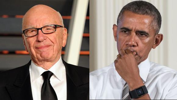 """Para Rupert Murdoch Obama no es un presidente """"realmente negro"""""""