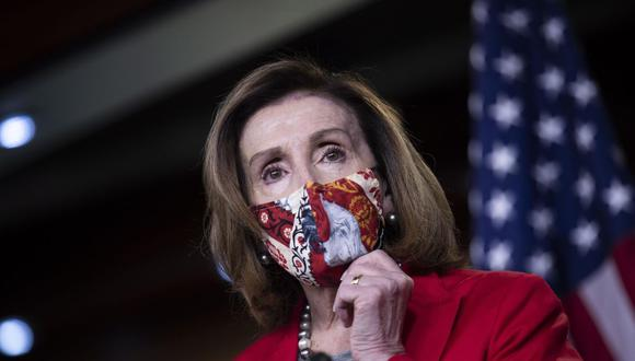 La demócrata Nancy Pelosi busca la reelección en la Cámara de Representantes de Estados Unidos. (EFE/EPA/SHAWN THEW).