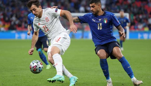España e Italia se enfrentaron en un partidazo por la semifinal de la Eurocopa   Foto: @SeFutbol