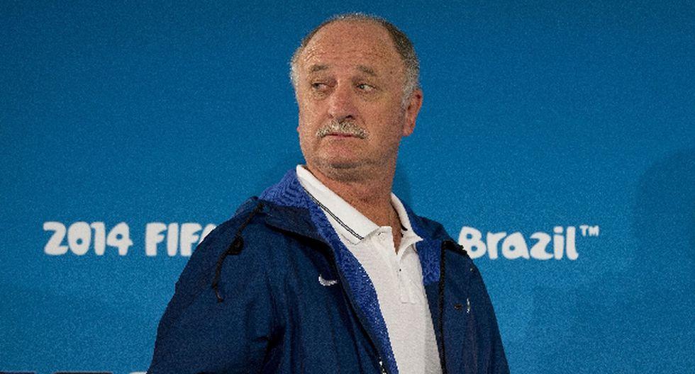 Scolari deja cargo de técnico de Brasil en manos de dirigentes