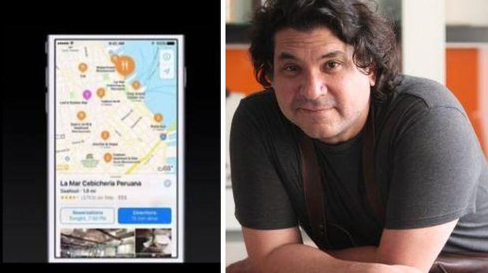 Cebichería de Gastón Acurio apareció en lanzamiento de iPhone 7 - 1