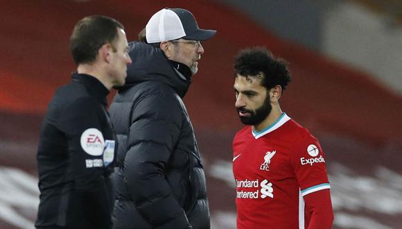 Mohamed Salah criticado por exfutbolista de Liverpool. (Foto: Reuters)