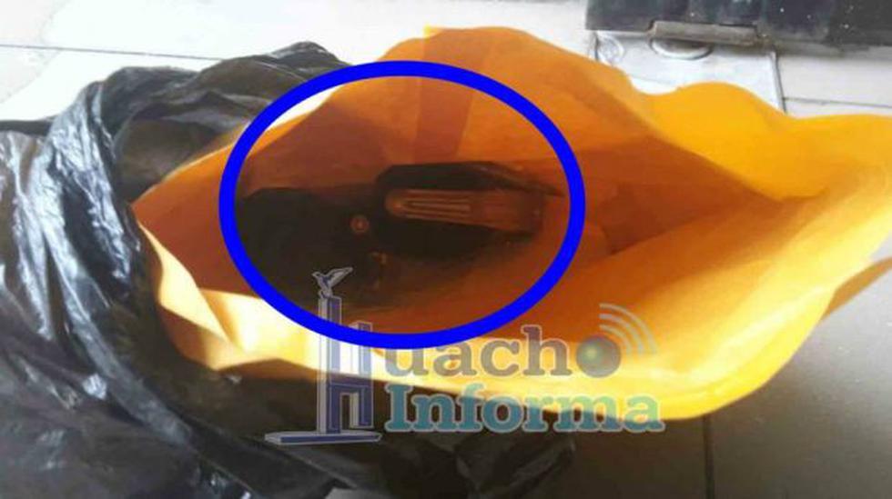 Huacho: granadas estaban con carta extorsiva fuera de municipio - 2