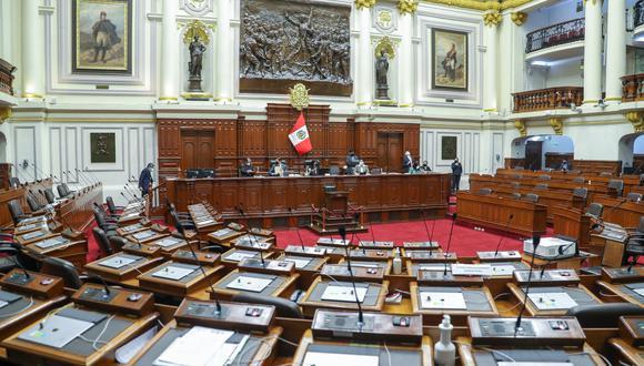 La sesión está programada para la 5:00 p.m y se llevará a cabo a través de la plataforma de Microsoft Teams del Congreso de la República. (Foto: GEC)