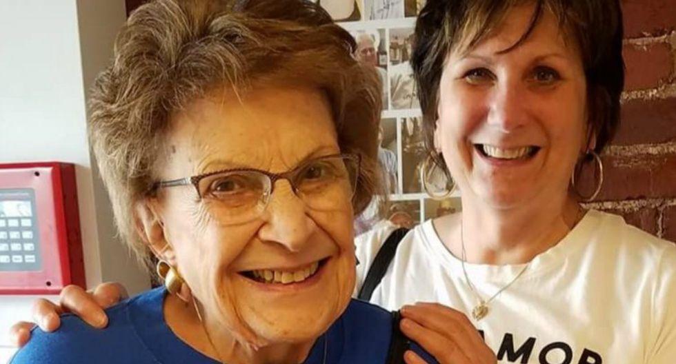 Lucy Pollock, de 97 años, inició su canal de cocina en plena cuarentena y se ha vuelto un éxito en las redes sociales. (Facebook | Mary Ellen Raneri)