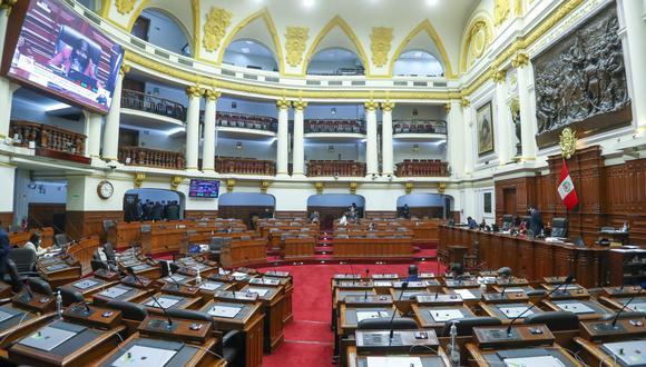 María Teresa Cabrera, de Podemos Perú, sustentó la ley para modificar la colaboración eficaz. (Foto: Congreso)