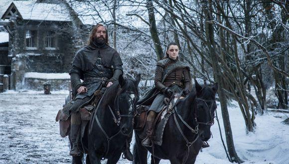 Arya Stark se encuentra con el Perro, quien también se dirige a la Capital de Westeros, pero él quiere asesinar a la Montaña. (Foto: HBO)