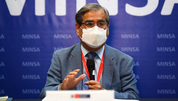 Ugarte precisó que ahora los médicos ya pueden atender otras enfermedades porque el sistema de salud está más fortalecido. (Foto: GEC)