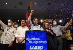 El derechista Lasso derrota al correísta Arauz y es el nuevo presidente de Ecuador | FOTOS