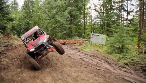 VIDEO: RJ Anderson y su Gymkhana con una UTV
