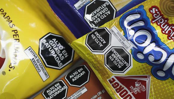 Al día de hoy se tenía previsto que todos los productos procesados que así lo requieran cuenten con estos sellos de forma impresa. (Foto: GEC)