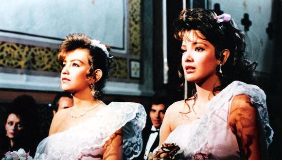 """Adela Noriega y Thalía dieron vida a la primera versión para la televisión de la """"Quinceañera"""". (Foto: Televisa)."""