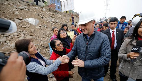 El rechazo a la gestión del alcalde de Lima, Jorge Muñoz, descendió de 33% a 26%  (foto: Piko Tamashiro).