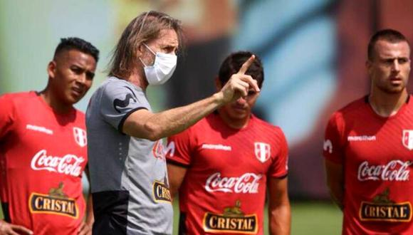 Ricardo Gareca tendrá que reformular ahora su plan de trabajo para los próximos meses. (Foto: @SeleccionPeru)
