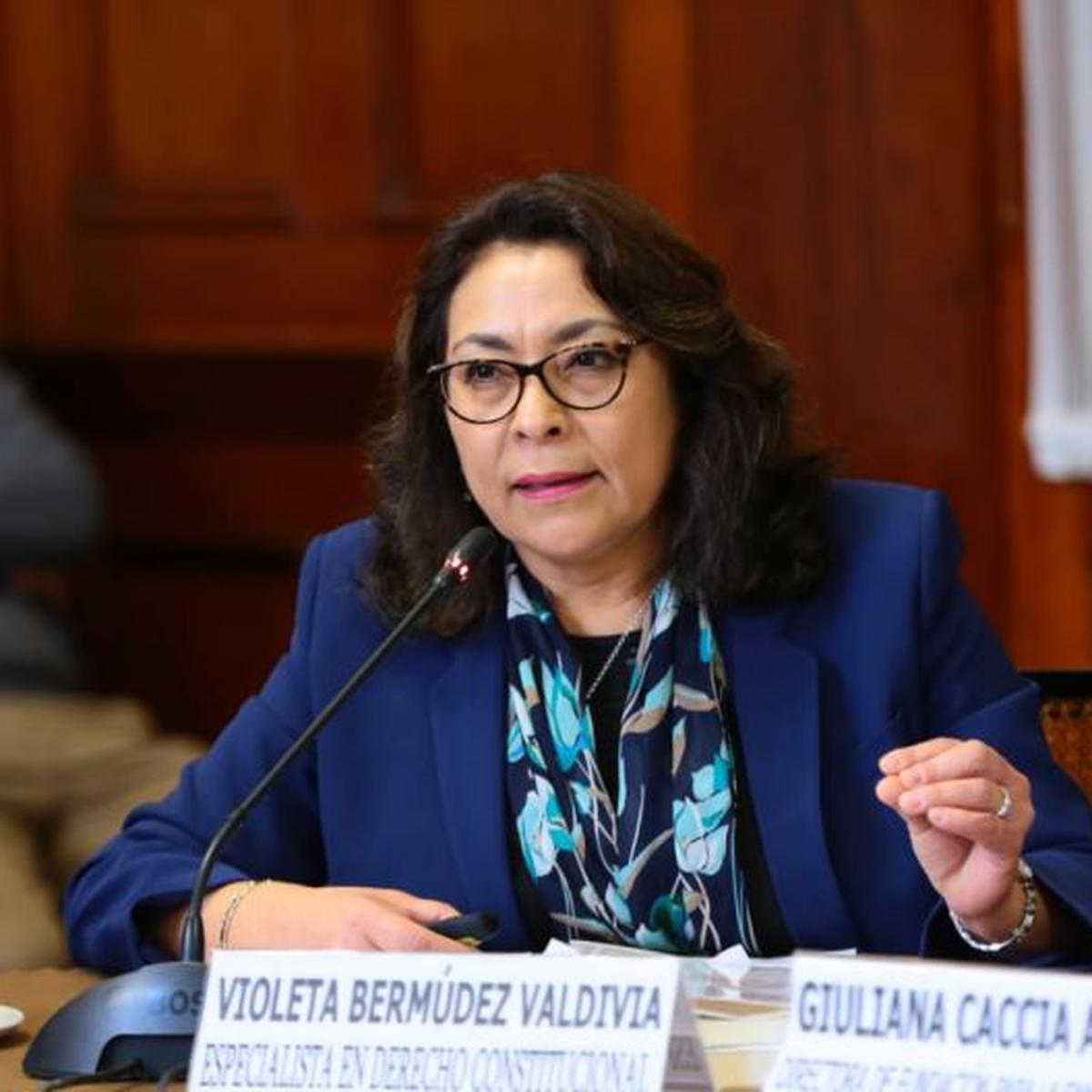 Francisco Sagasti | Violeta Bermúdez sería la nueva presidenta del Consejo  de Ministros | POLITICA | EL COMERCIO PERÚ