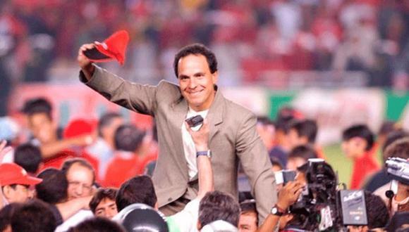El técnico se consagra hasta hoy en día como el único en conseguir un título continental para el Perú. (Foto: Difusión)