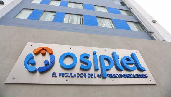 Organismo Supervisor de Inversión Privada en Telecomunicaciones. (Foto: GEC)