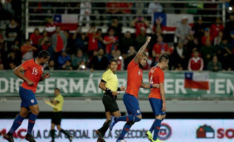 Chile vs. Honduras EN VIVO: el gol de Arturo Vidal para el 1-0 | VIDEO